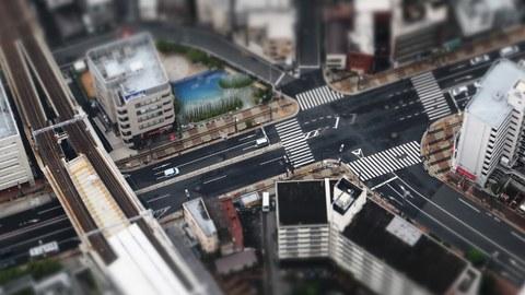 Straßenkreuzung