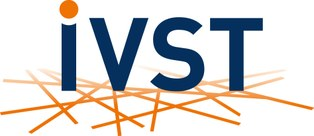 This picture shows the IVST Logo.