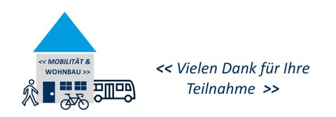 "This picture shows the logo that was created for the diploma thesis ""Mobility and Housing"". The logo shows a house that illustrates residential construction as well as various means of transportation."