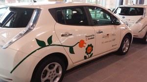 Bild eines Elektroautos