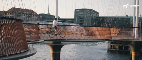 Cirkelbroen over the Christianshavn channel