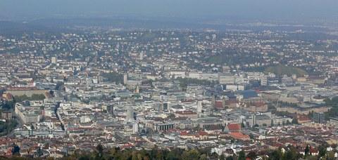 Bild des Talkessels von Stuttgart