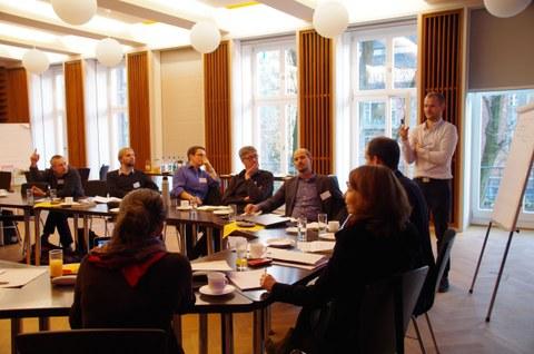 Die Teilnehmer des Beiratstreffens vom 09.11.16