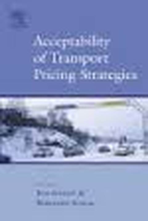 Buchtitel: Acceptability of transport pricing strategies