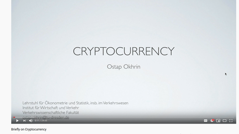 Präsentation Kryptowährungen