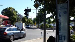 Kreuzung Ecke Chemnitzer Str. 50 / Würzburger Str. 35