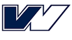 Das Bild zeigt ein V und ein W, sowie einen stilisiertes Porträt - VW steht für Verkehrswissenschaften, der Kopf stellt das Portät von Friedrich List dar, ersten Verkehrswissenschaftler (06.08.1789 bis 30.11.1846)