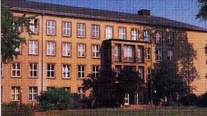 Potthoffbau, Campus der TU Dresden