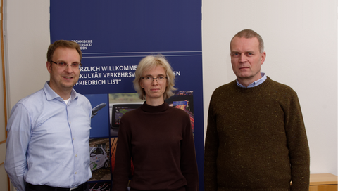 Prof. Prokop, Prof. Gerike, Prof. Lippold