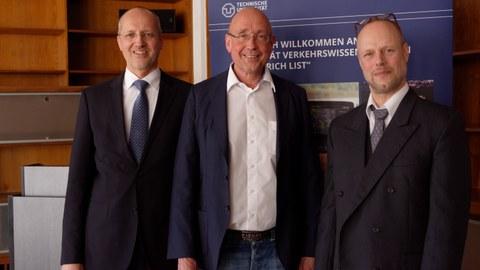 Prof. Keßler, Prof. Erhard, Prof. Atzler