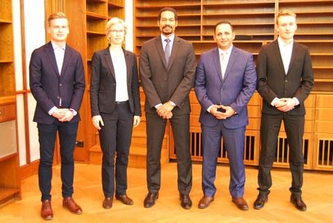 ägyptische Delegation