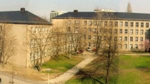 """Fakultätsgebäude der Fakultät Verkehrswissenschaften """"Friedrich List"""" Gerhart-Potthoff-Bau"""