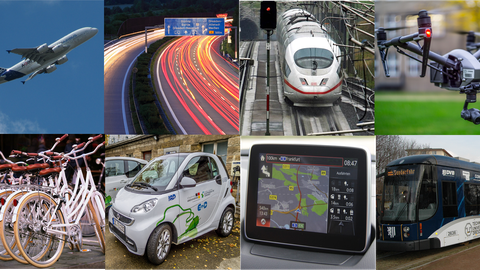 Bildermatrix Verkehrswissenschaften