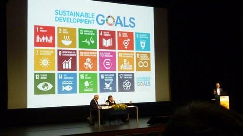 Professor Horvath sprach in seiner Keynote-Lecture über die Relevanz ökologischer Bewertungen
