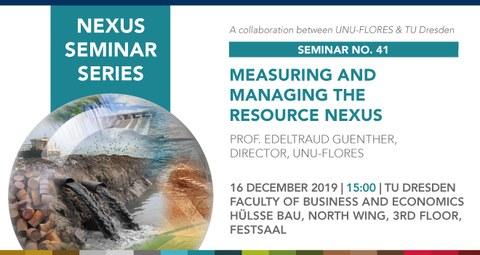 Nexus Seminar
