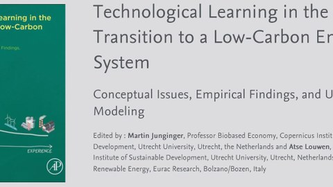 "REFLEX Buchpublikation ""Technological Learning in the Transition to a Low-Carbon Energy System"""