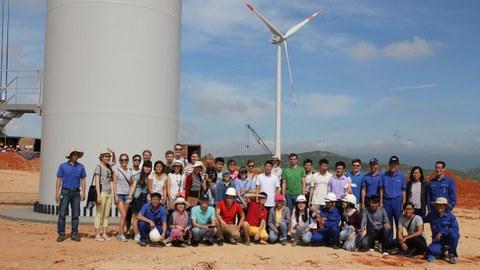Deutsch-Vietnamesische Sommerschule zur Windenergie