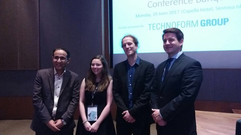 Tony Klein erhält Student Paper Award