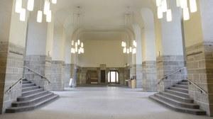 Eingangsbereich des Georg-Schumann Baus