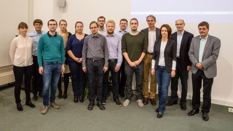 Group photo with all 14 participants of the workshop.
