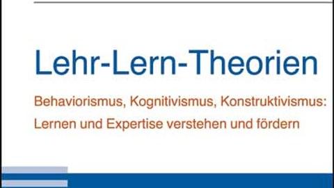 Buch Lehr-Lern-Theorien