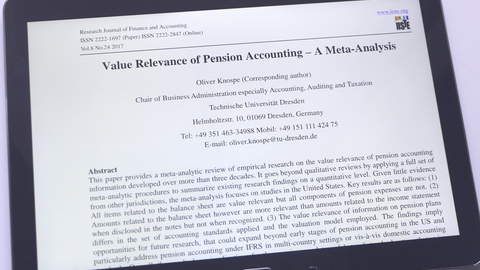 Value Relevance of Pension Accounting