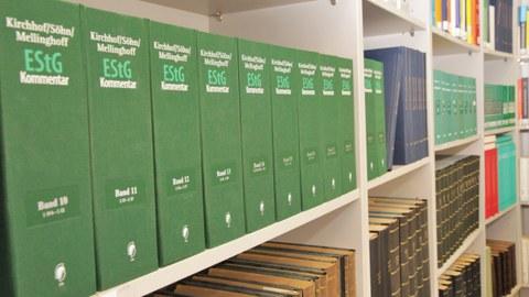 Bibliothek des Lehrstuhls