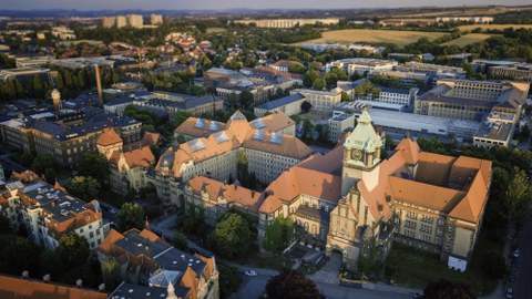 Bild des TU Campus