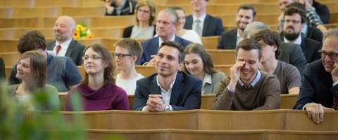 Auditorium beim Tag der Fakultät