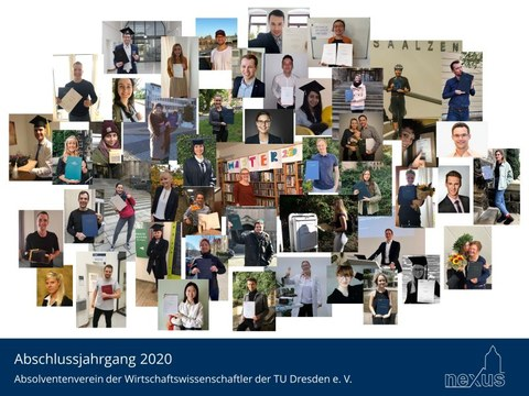 Abschlussbild Absolventen 2020