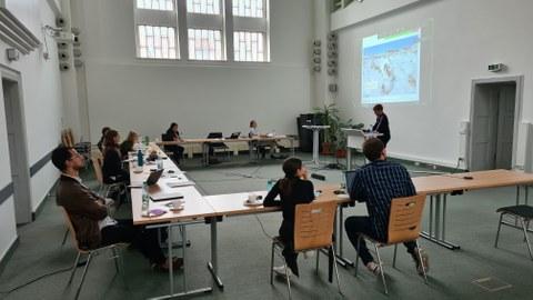 Workshop im Festsaal der Fakultät