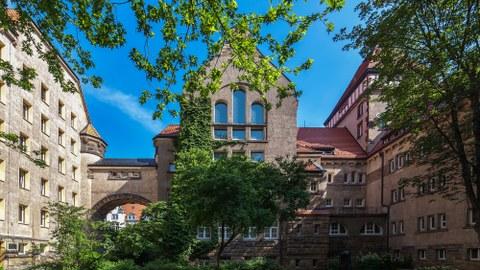 Festsaal der Fakultät Wirtschaftswissenschaften
