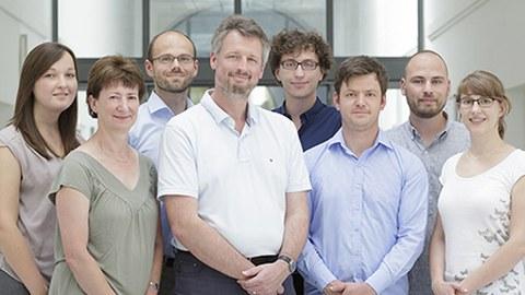 Hier sind die Mitglieder des Lehrstuhls zu sehen.