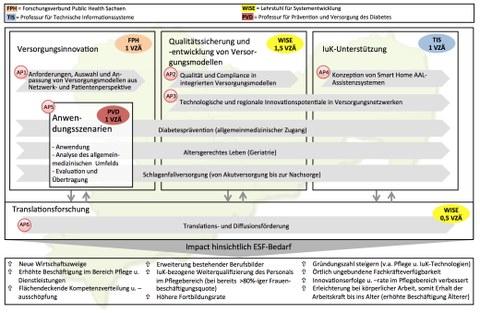 Care4 Saxony - Arbeitspakete