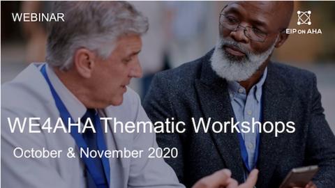 WE4AHA Workshops