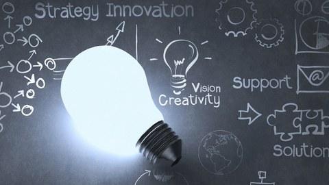 Idee, Lampe, Vision