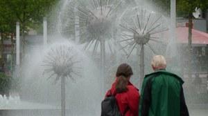 Dresden Prager Straße Wasserspiel