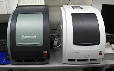 A RT-qPCR machine