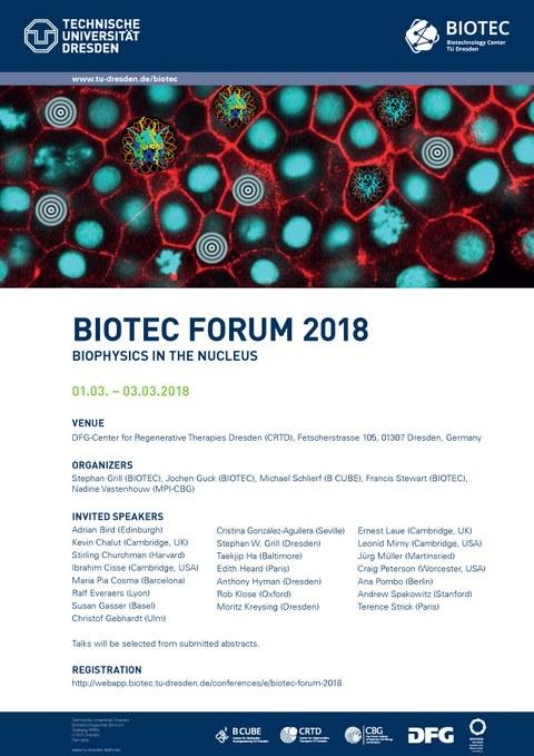 2018 BIOTEC Forum Poster