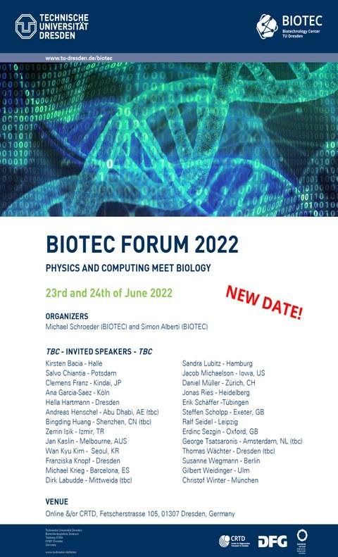 BIOTEC Forum 2022 Poster
