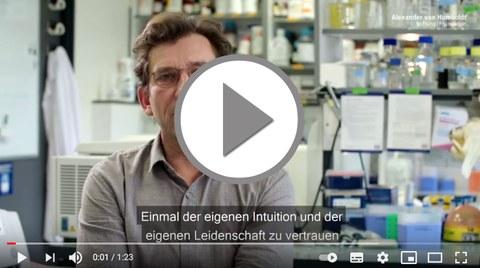 "Video ""Rat fuer junge Wissenschaftler"""