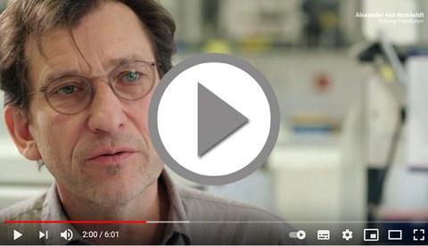 Viedeo zur Humboldt Professor von Michael Sieweke