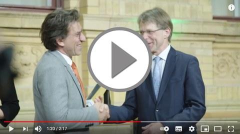 Video zur Preisverleihung Alexander von Humboldt Professur 2018