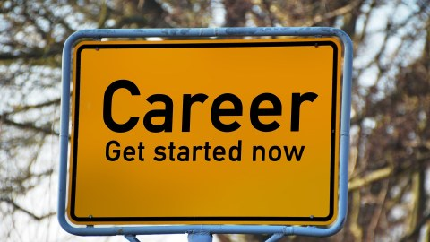 Sign - Career: get started now