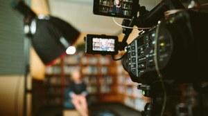 Kamera beim Videodreh