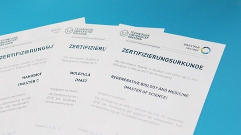 Systemakkreditierung der TU Dresden bescheinigt Qualität der Lehre an BIOTEC und CRTD