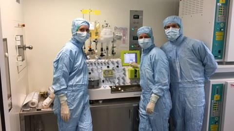Automatisierte Herstellung von Zelltherapeutika