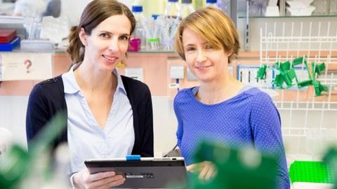 Prof. Dr. Martina Rauner and Dr. Ulrike Baschan