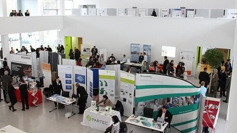 29 Saxon industry exhibitors showed their products and technological applications in the foyer of the CRTD