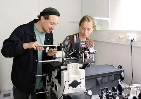Lab rotation (Nanobiophysics)